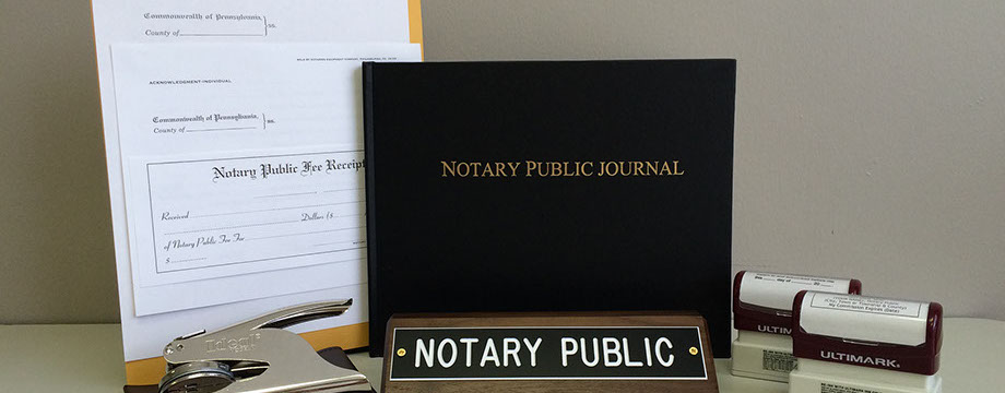 Notary Services Warminster PA